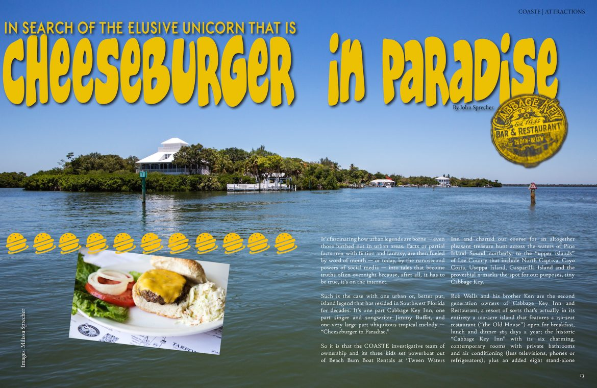 jimmy buffet cheeseburger in paradise cabbage key